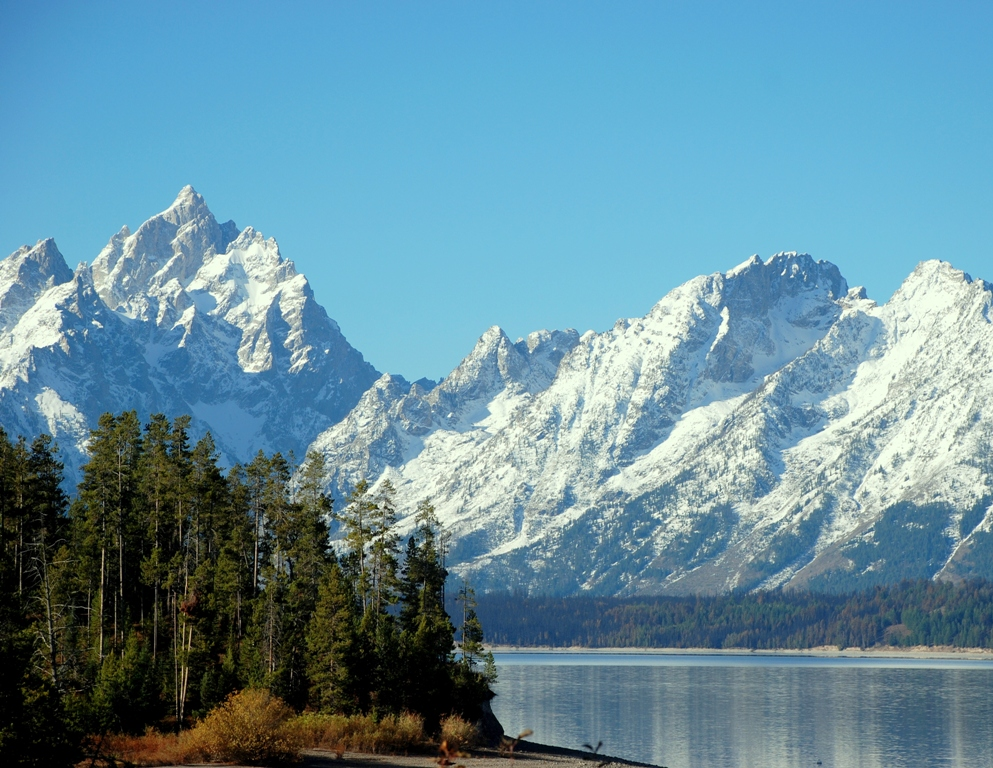Teton Range | Jackson Hole, Wyoming | October, 2009