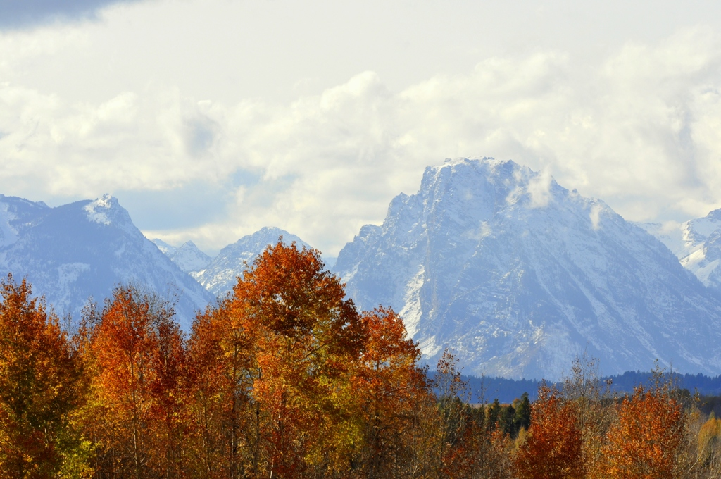 Teton Range | Jackson Hole, Wyoming | November, 2009