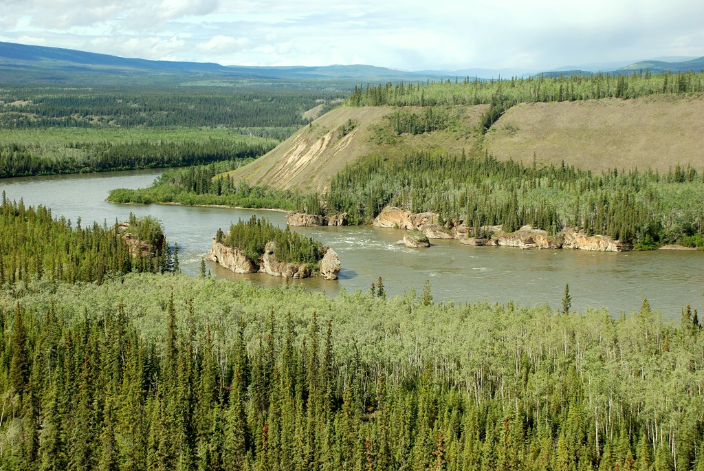 Yukon River at Five Finger Rapids | Carmacks, Yukon Territory | June, 2011