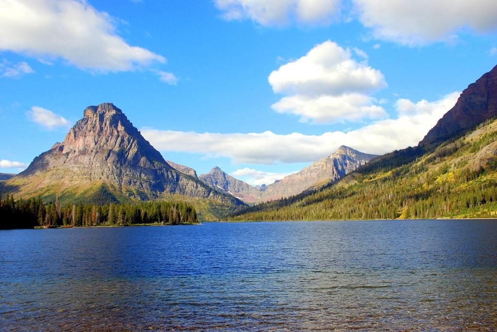 Two Medicine Lake   Glacier National Park   September, 2010