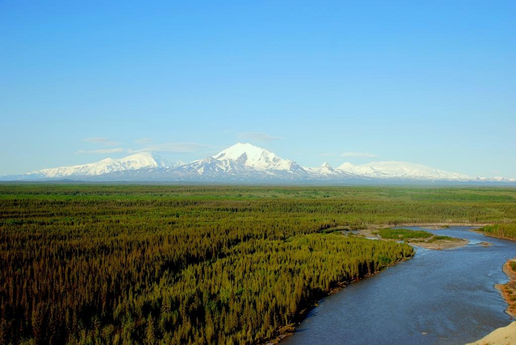 Wrangell Mountain | Glennallen, Alaska | June, 2009